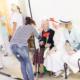Bewohnerin von Seniorenheim wird für Lovestorm-Fotoshooting geschminkt